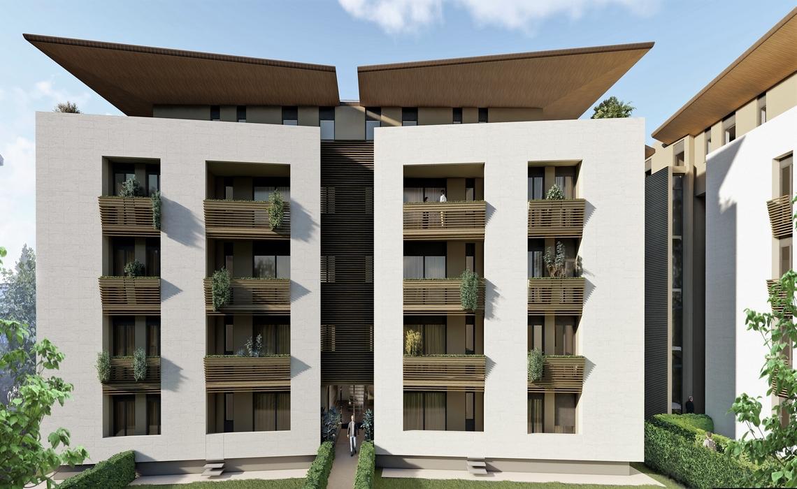 SAN LEONARDO elegante bilocale in costruzione con SISMA BONUS 85%