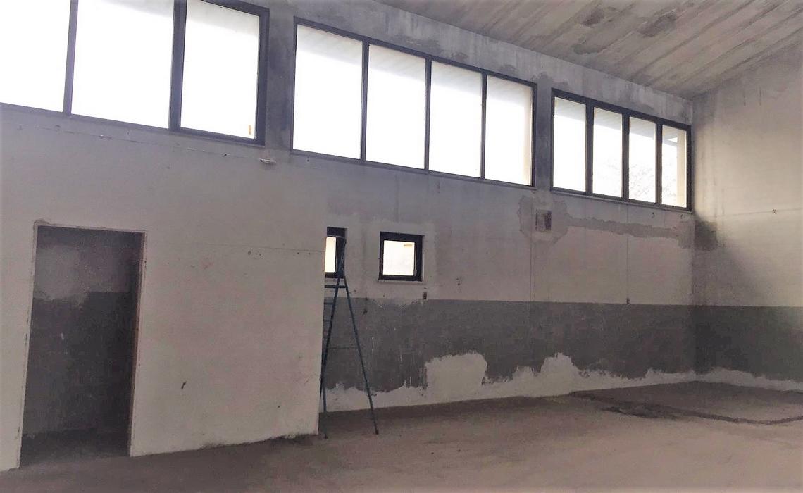 PRATI BOCCHI capannone/laboratorio con ampia autorimessa